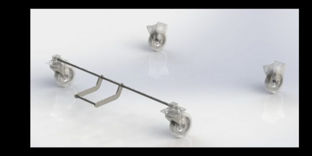 Caster Central-Locking Brakes Overview