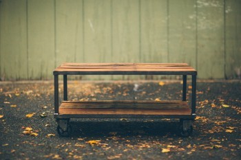 CC Vintage Coffee Table Outdoors 3