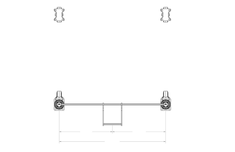 Central-Locking Brake System Mockup