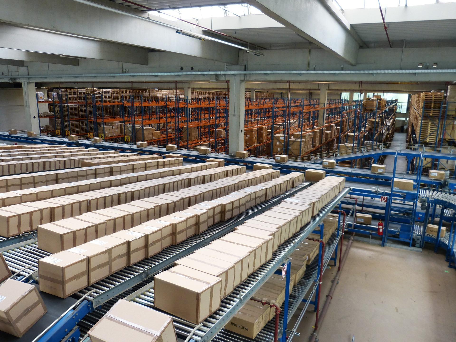 Caster-Connection-Logistics-Assembly-Line