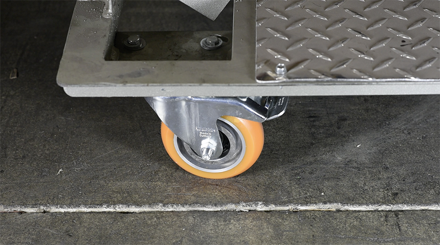 Caster Total Lock Brake