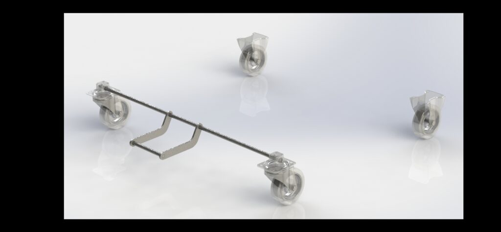 Central-Locking Brake System