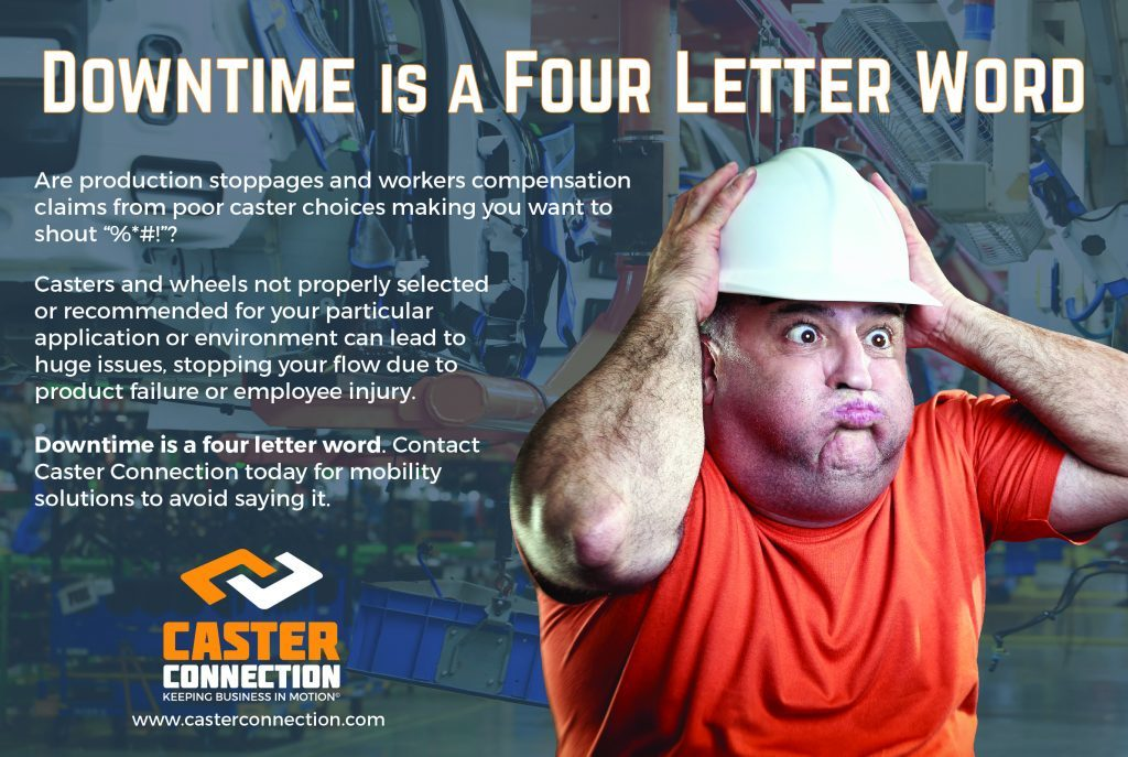 Downtime is a Four Letter Word Poster 1