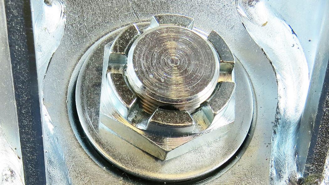 Forged Kingpin Underneath Closeup
