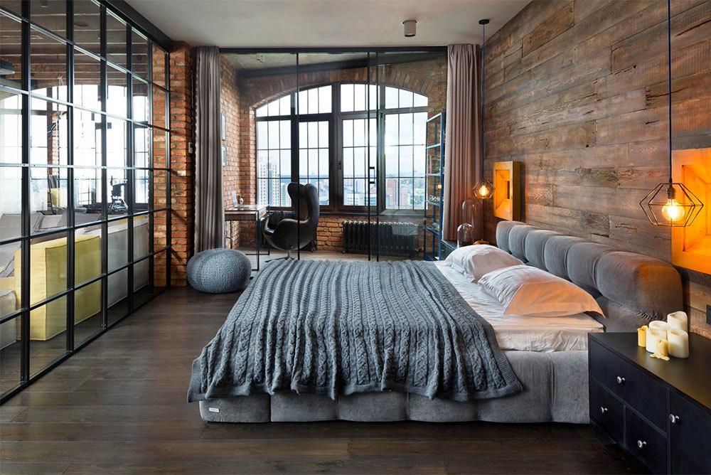 Industrial-Style-Bedroom