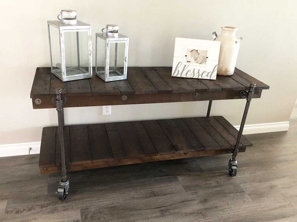 Industrial-Vintage-Caster-Console-Table.