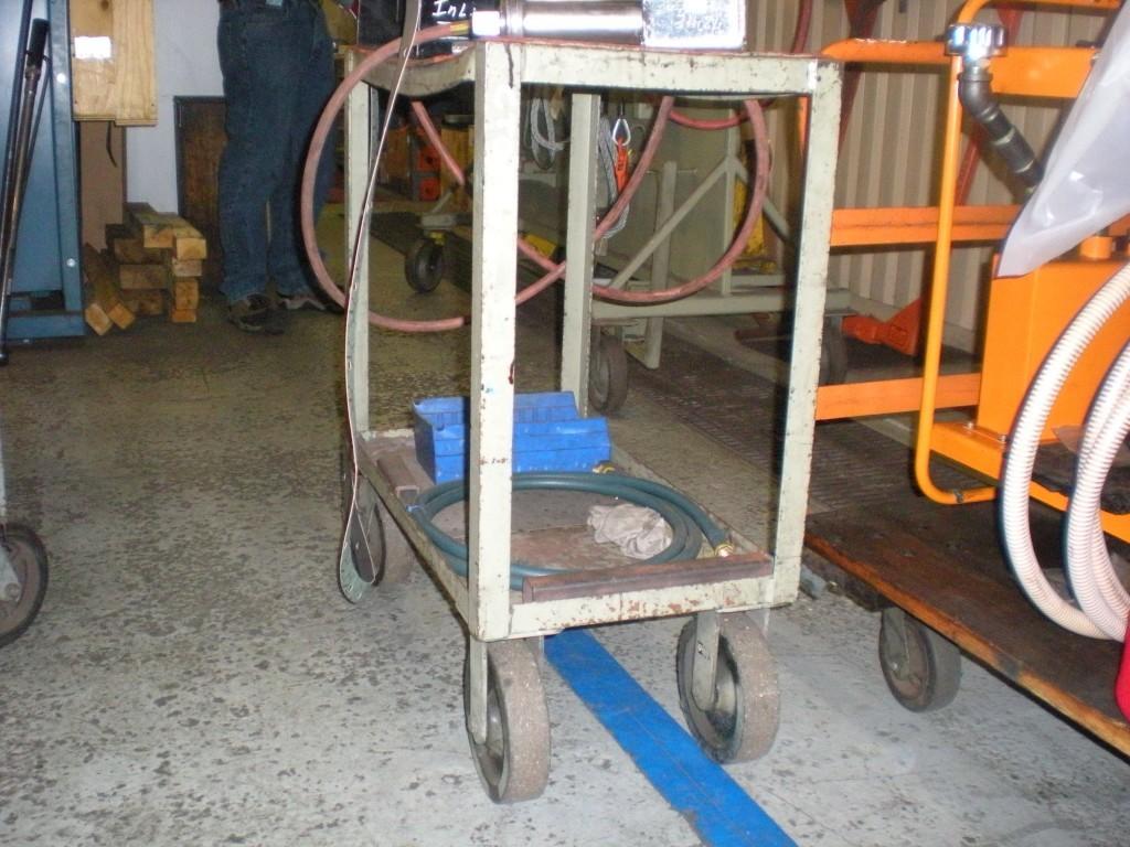 Locomotive Manufacturer Cart - Before