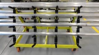 Manufacturing Cart w CC Apex Casters