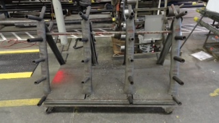 Manufacturing Cart w Steel Casters