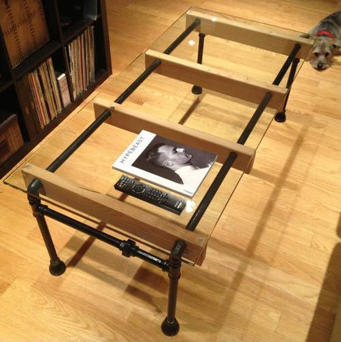 Pipe-Coffee-Table