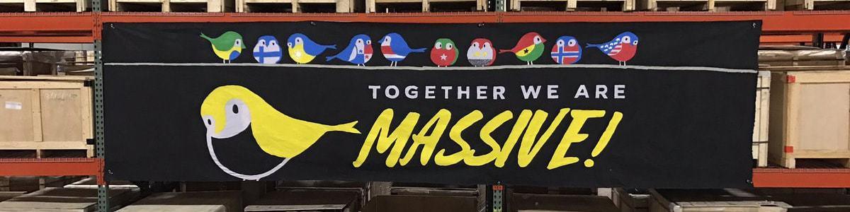 Together we Are Massive