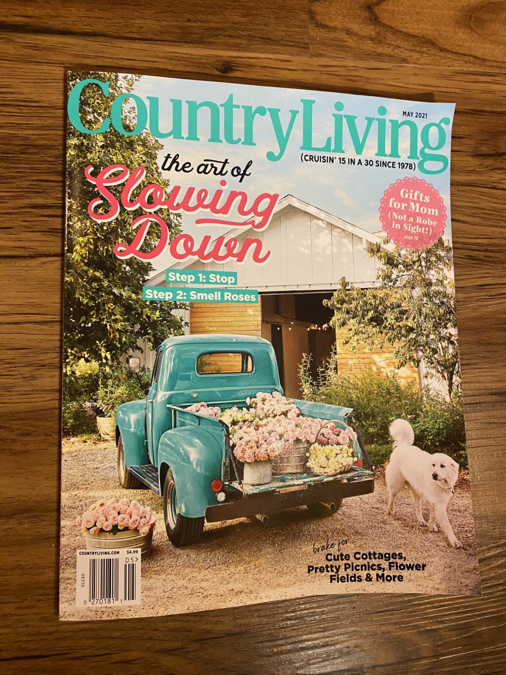 CC Vintage Country Living Magazing May 2021 Cover