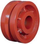 V Groove Caster Wheel