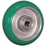 Rubber Balloon on Aluminum Caster Wheel