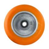 Polyurethane on Aluminum Caster Wheel