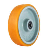 Polyurethane on Cast Iron Caster Wheel