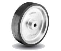 Rubber on Aluminum Caster Wheel