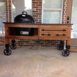 CC Vintage Casters Grill 1