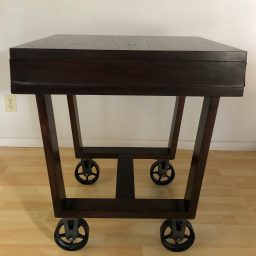 CC Vintage Casters High Top Table