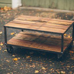 CC Vintage Casters Long Table