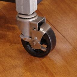 SQ Kitchen Cart Polyurethane Tread Swivel Caster 10