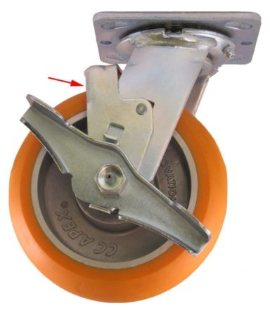 Side Lock Brake for Casters 768x889
