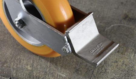 Caster Tech Lock Brake Pedal