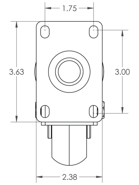 Top Plate CCAPEX 425 S