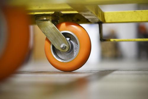 CC Apex CC Peak on Material Handling Cart