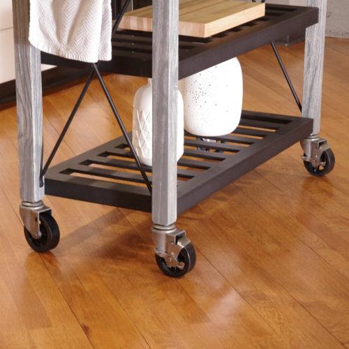 SQ Kitchen Cart Polyurethane Tread Swivel Caster 9