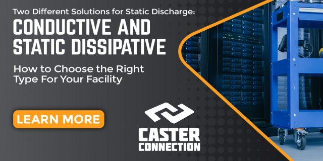 Conductive vs ESD Caster Wheels