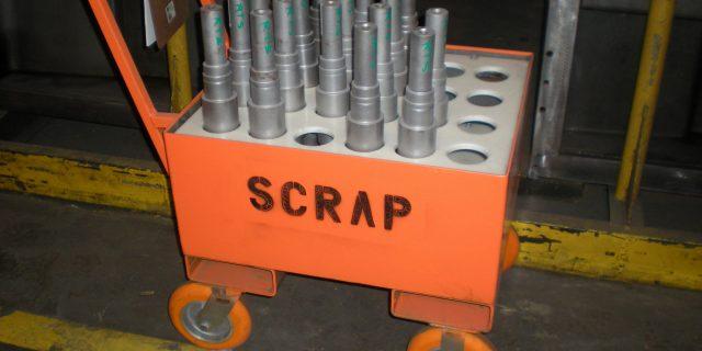 Scrap Cart w CC Apex Casters