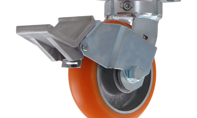 Face Contact Brake for Casters
