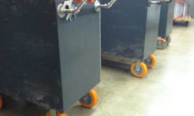 Healthcare Maintenance Carts with CC Apex Casters