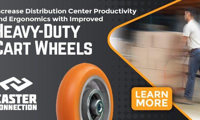 Heavy duty cart wheels