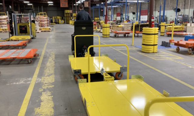 Casters for Towlines Education