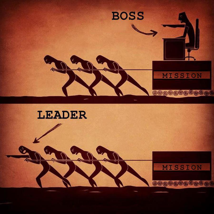 boss versesleader