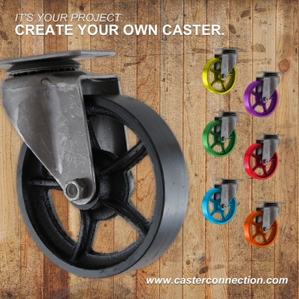 Create Your Own Vintage Caster