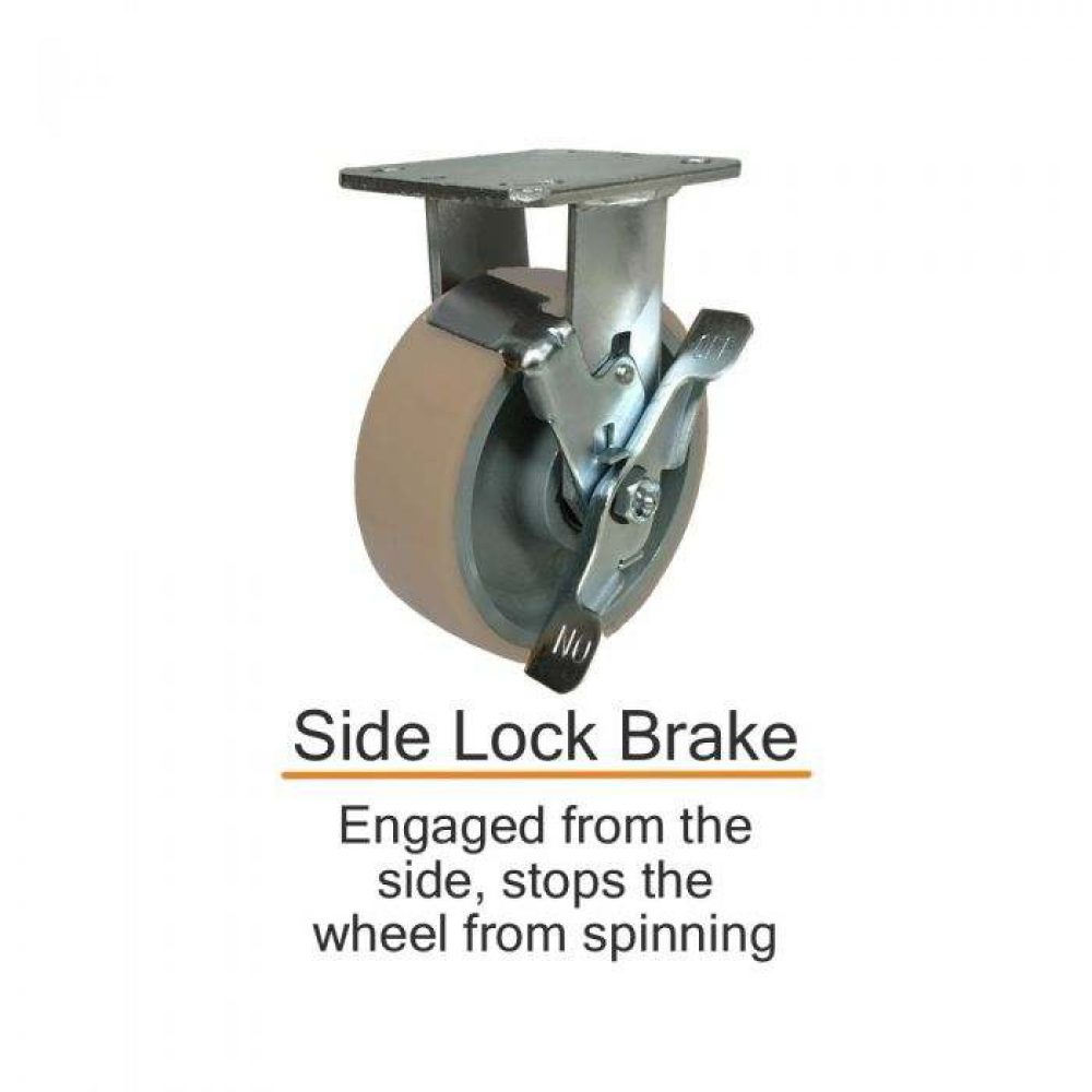 2 rigid brake 7 3 2 1