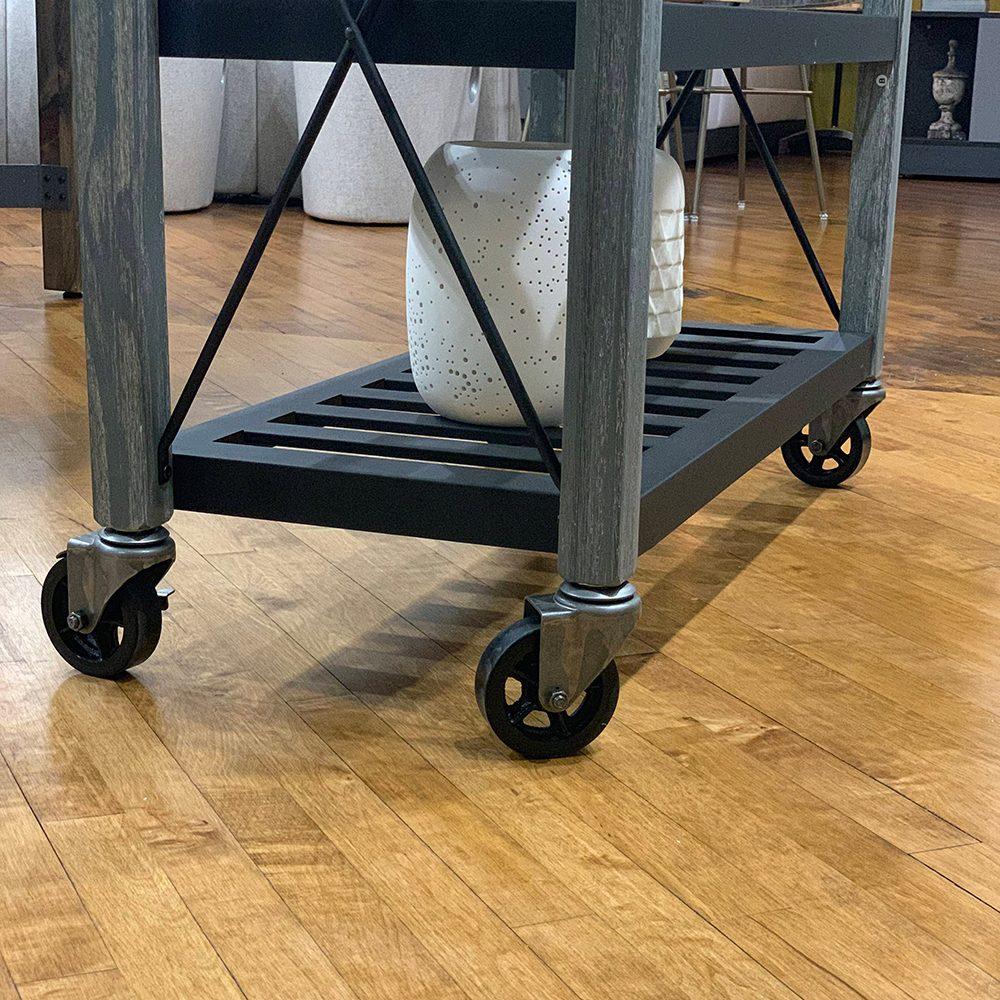 SQ Kitchen Cart Polyurethane Tread Swivel Caster 7