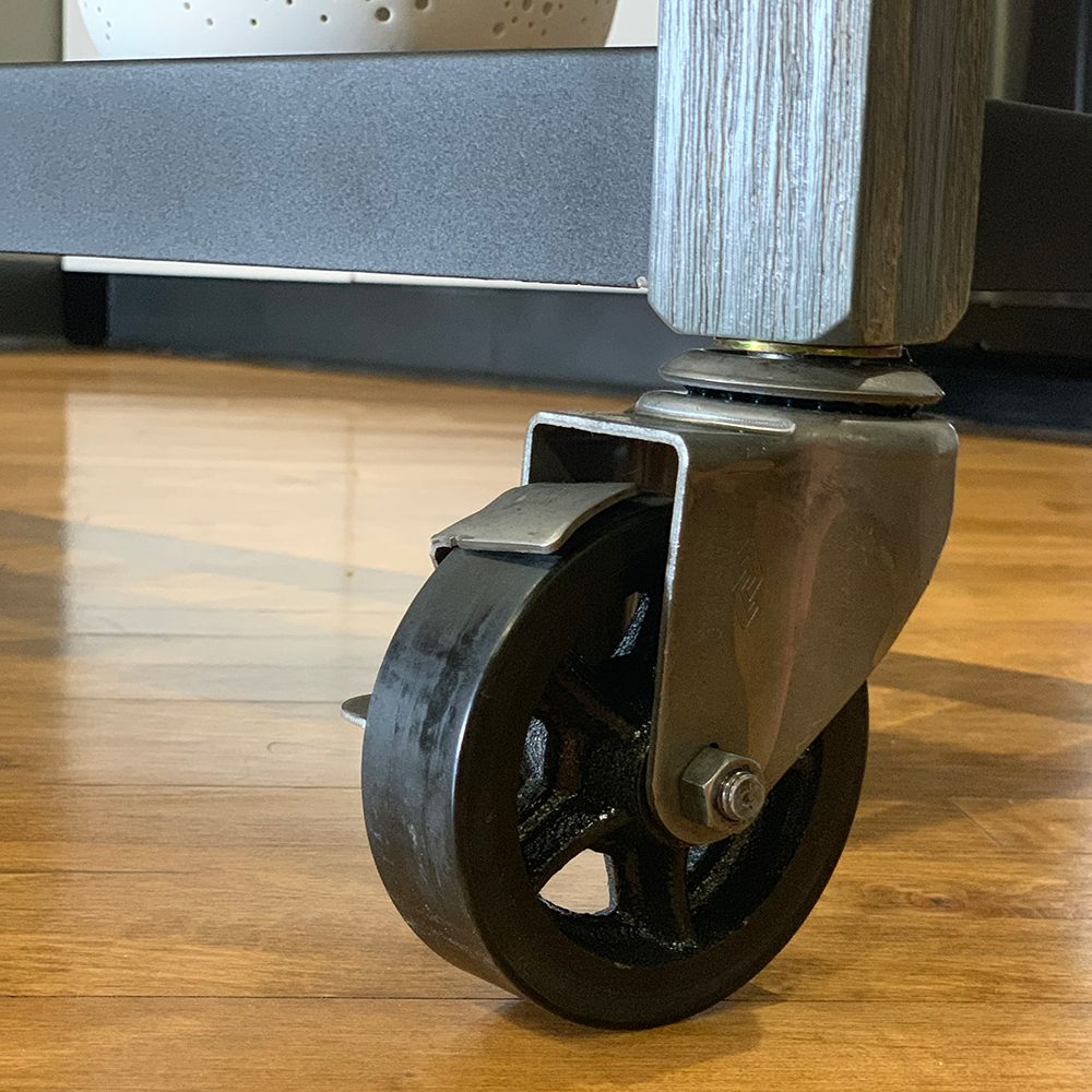 SQ Kitchen Cart Polyurethane Tread Swivel Caster 8