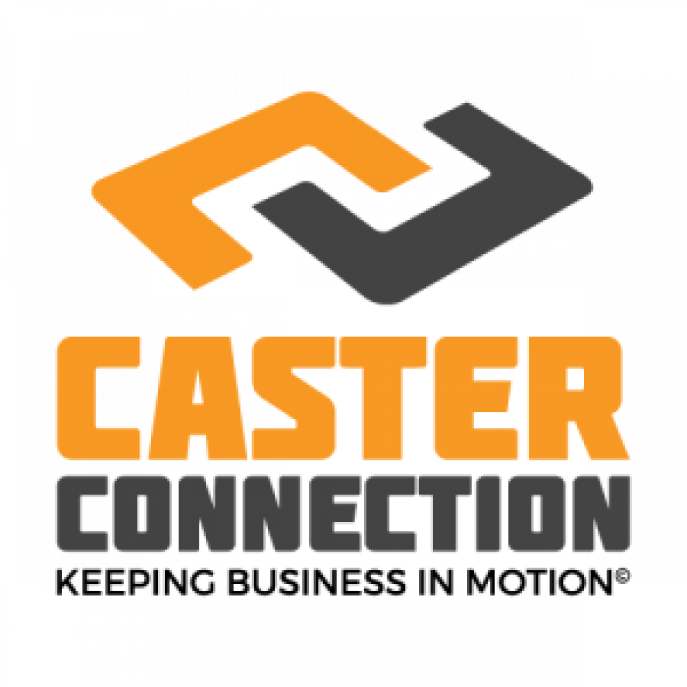 Caster connection logo with tagline 1