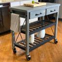 SQ Kitchen Cart Polyurethane Tread Swivel Caster 3 Thumbnail