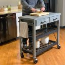 SQ Kitchen Cart Polyurethane Tread Swivel Caster 5 Thumbnail