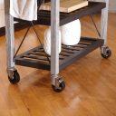 SQ Kitchen Cart Polyurethane Tread Swivel Caster 9 Thumbnail